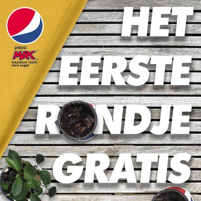 Gratis Pepsi MAX in de Horeca.