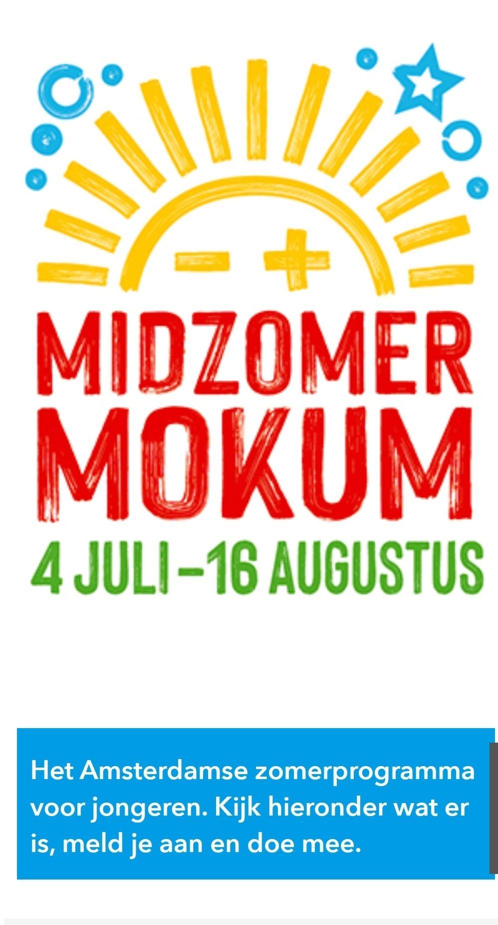 Vele gratis (of goedkope) kinderactiviteiten in Amsterdam deze zomervakantie