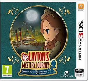 Layton's Mystery Journey: Katrielle and the Millionaires' Conspiracy (Nintendo 3DS) @Amazon UK