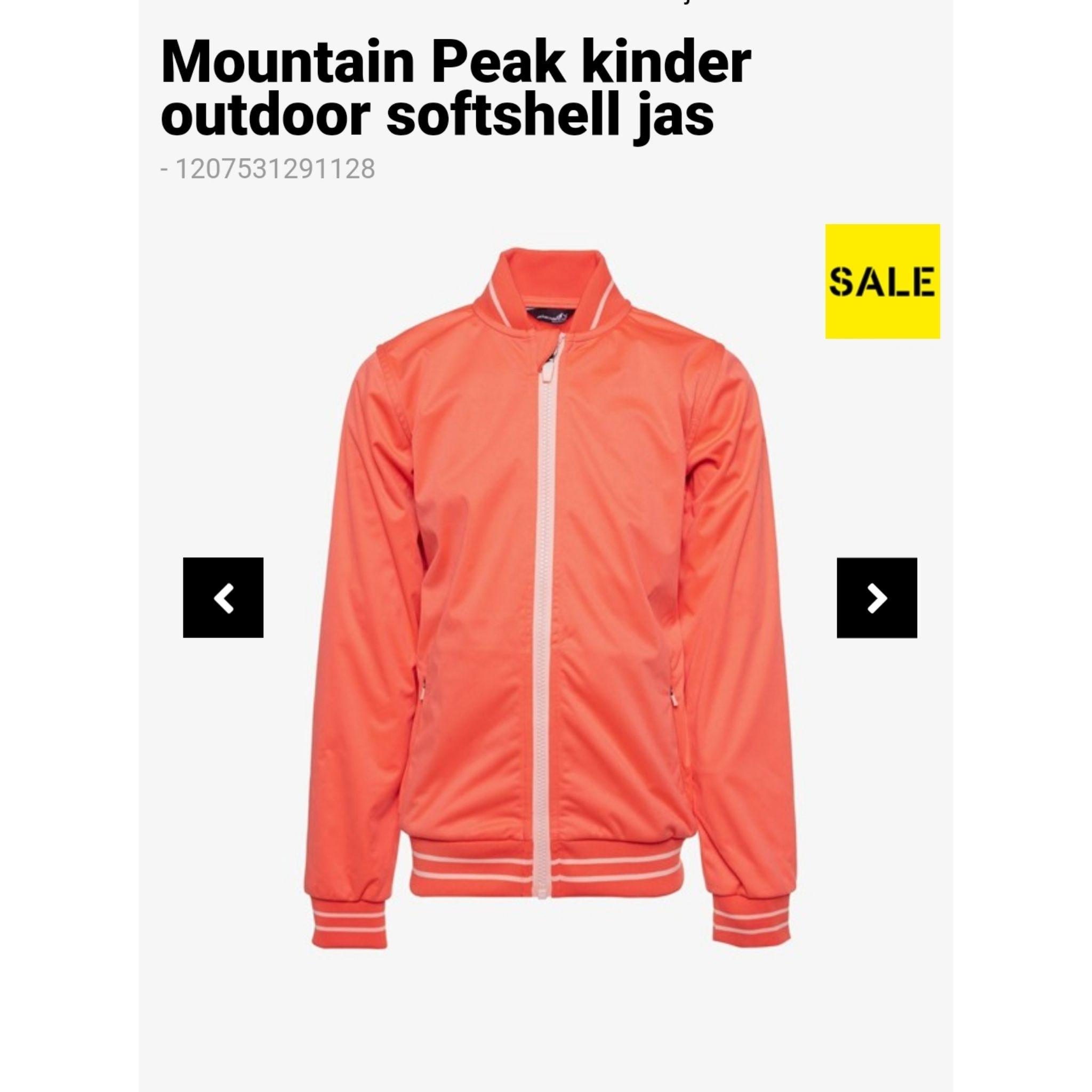 Softshell jas mountain peak