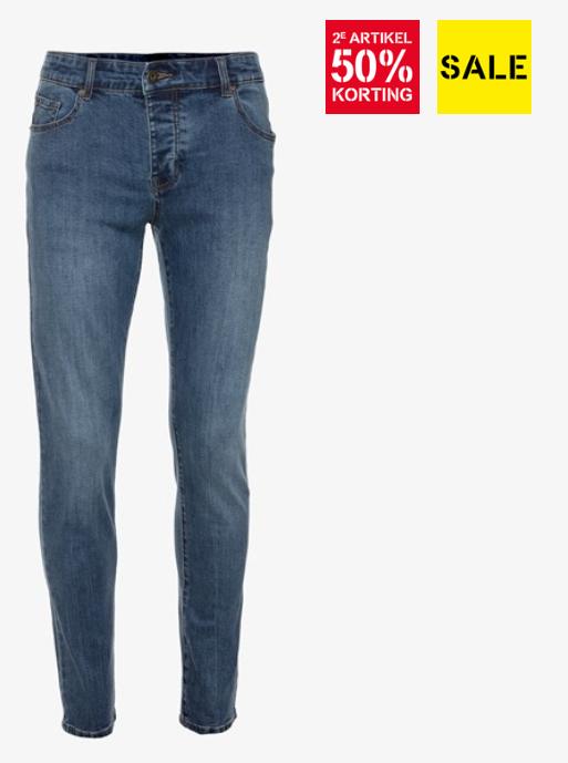 Sale + 2e halve prijs op Unsigned Heren Jeans -> vanaf €5 per stuk @ Scapino