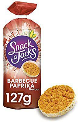 8 pakken Snack a Jacks (3 smaken: Cheese, Karamel of BBQ-Paprika)