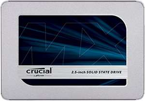 Crucial MX500 1TB Zilver (SATA, 2,5 inch, interne SSD)