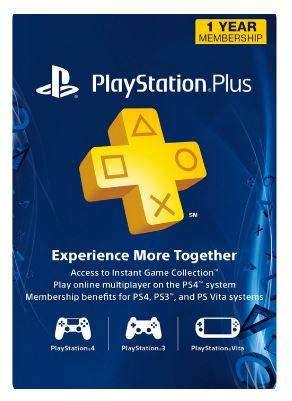 1 jaar Playstation Plus (USA account)