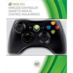 Xbox 360 Wireless Controller (zwart) voor €27,67 @ The Game Collection