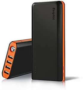 EasyAcc 20000mAh Powerbank @Amazon.de