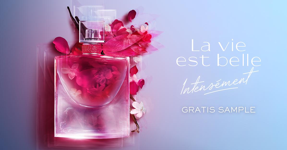 Gratis La vie est belle parfum sample