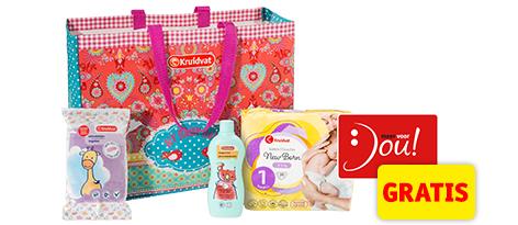 Blije Baby Voordeel - gratis babyproducten voor aanstaande ouders @ Kruidvat