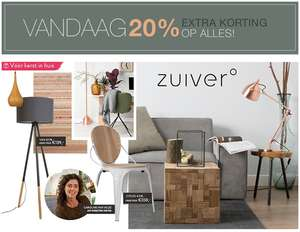 [CYBER MONDAY] 20% EXTRA korting op alles @ Westwing