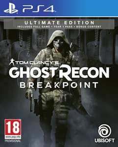 Tom Clancy's Ghost Recon: Breakpoint Ultimate Edition (PS4) @ Coolshop
