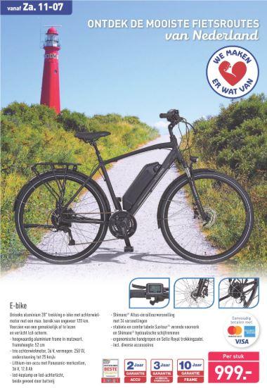 """Aluminium 28"""" trekking e-bike"""