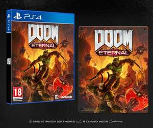 Doom Eternal special edition (metal plate) voor PS4 en Xbox