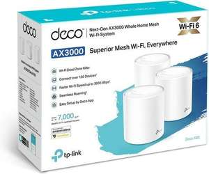 TP-Link Deco X60 WiFi 6 Mesh 3-pack