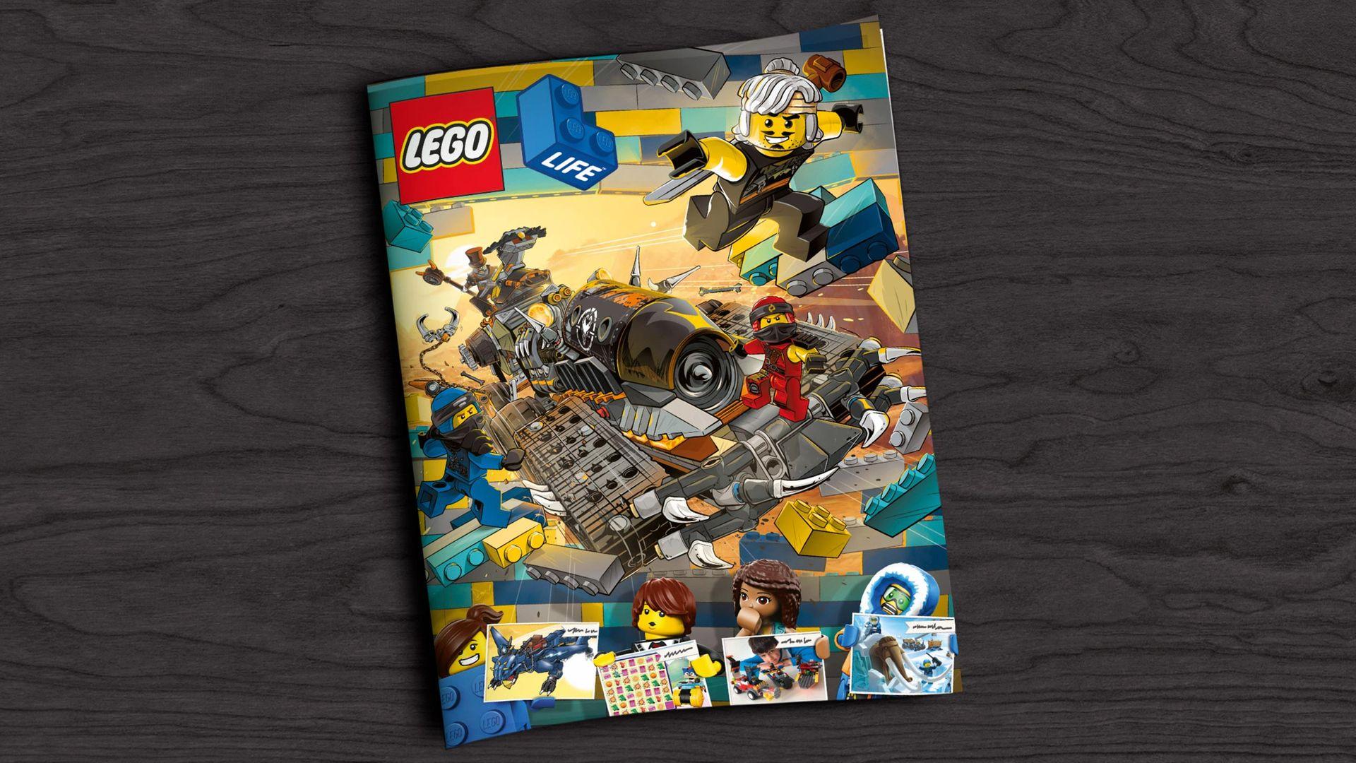 Gratis oude LEGO magazines downloaden als pdf