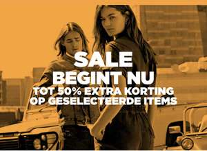 Tot 50% (extra) korting @ G-Star Outlet