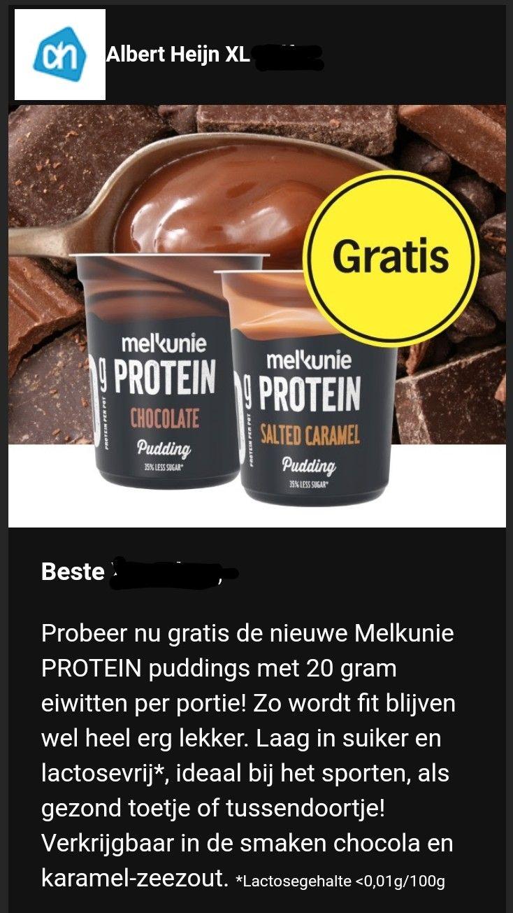 [Prijsfout] Onbeperkt Melkunie Protein pudding (200 gram)