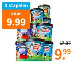 Ben en Jerry's / Breyers stapelen bij Albert Heijn! (bijv. 3 voor €9,99)