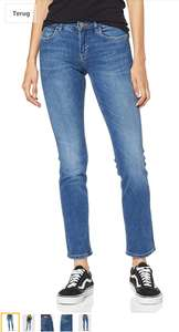 ONLY dames straight jeans medium blue @ amazon.nl