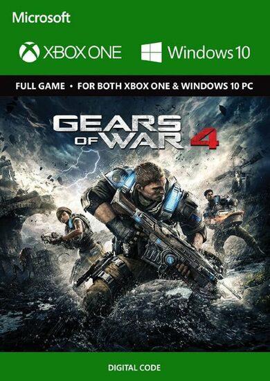 Gears of war 4 Xbox one en PC