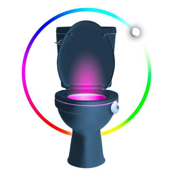 Gratis toilet verlichting twv 9.99 bij aankoop van 4 toiletblokken