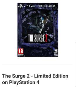 The Surge 2 Limited Edition ps4