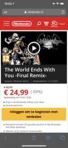 [Nintendo Eshop] Switch Game - The World Ends With You -Final Remix-