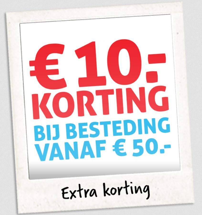 €10 korting bij besteding vanaf €50 @Hoogvliet Rotterdam Ceintuurbaan