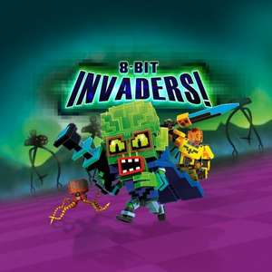 8-Bit Invaders! - €0,29 - 8-Bit Invaders! - Deluxe Edition - €0,34 @ PSN PS+