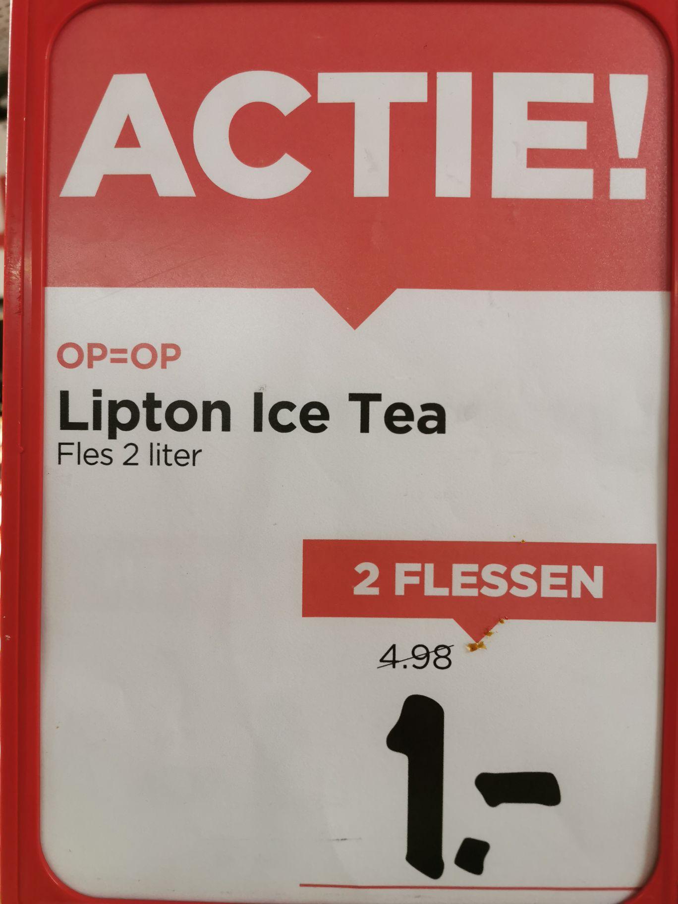 Lipton Ice Tea sparkling 2x 2 liter.