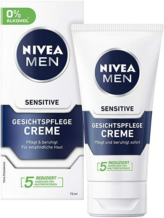[Amazon NL/DE]NIVEA MEN Sensitive Gezichtscrème 2x75 ml
