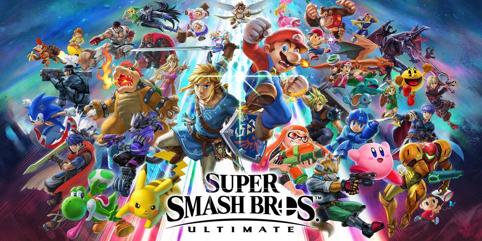 Super Smash Bros Ultmate US key (Switch)
