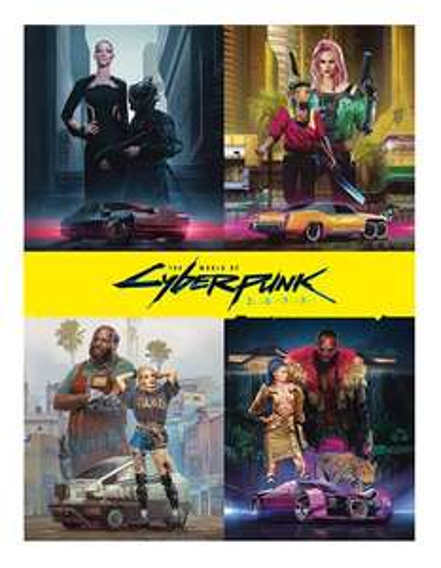 The world of cyberpunk 2077 (hardcover)