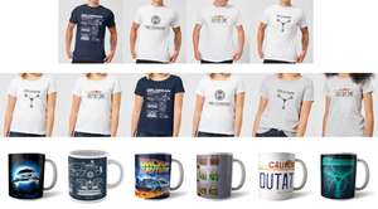 Officiële Back To The Future bundel (mok + t-shirt) voor €9,99