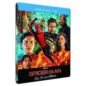 Spider-Man: Far From Home Blu-Ray [STEELBOOK)