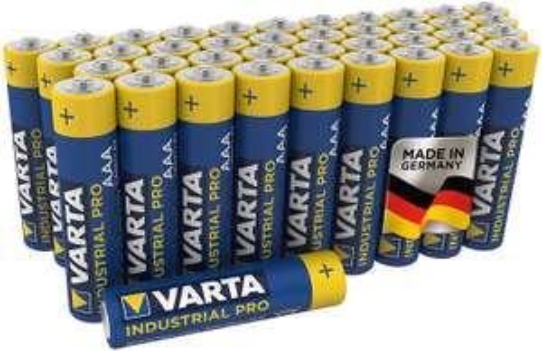 Varta Industrial Pro Lr03 AAA Batterijen - 40 stuks