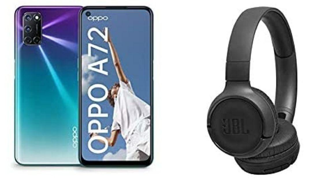 Oppo A72 + JBL tune 500MT