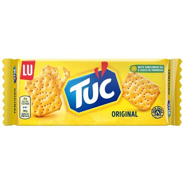 [€0,15 / pakje Tuc] Kruidvat: Geen verzendkosten bij aankoop van 5 pakjes Tuc en/of andere snacks