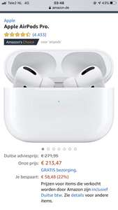 Airpods pro @ Amazon.de