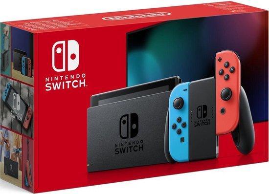 Nintendo Switch Rood Blauw weer verkrijgbaar voor de normale prijs bij bol.com