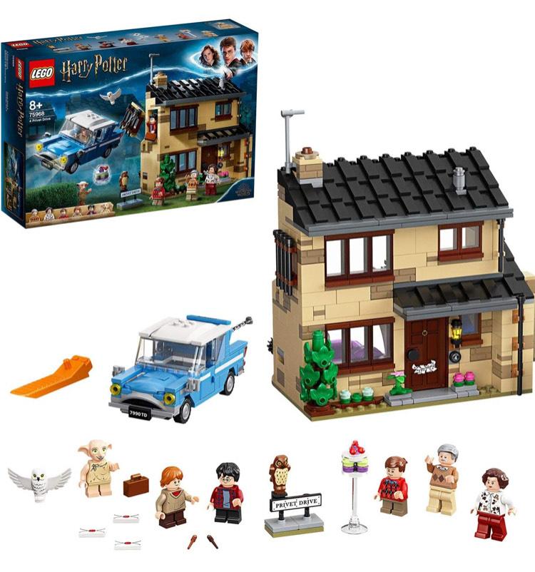 Lego Harry Potter Ligusterlaan 4 (75968). Nu laagste prijs ooit!