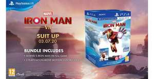 Iron Man VR Pack PS4