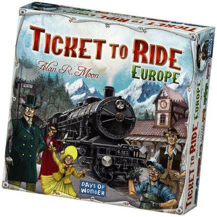 Ticket to Ride Europe bij Toychamp