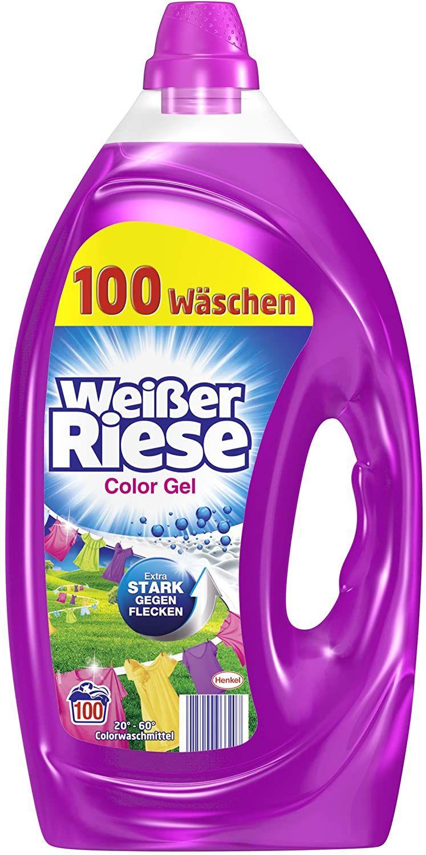 Witte reus vloeibaar kleuren wasmiddel 2x 5 liter (200 wasbeurten)