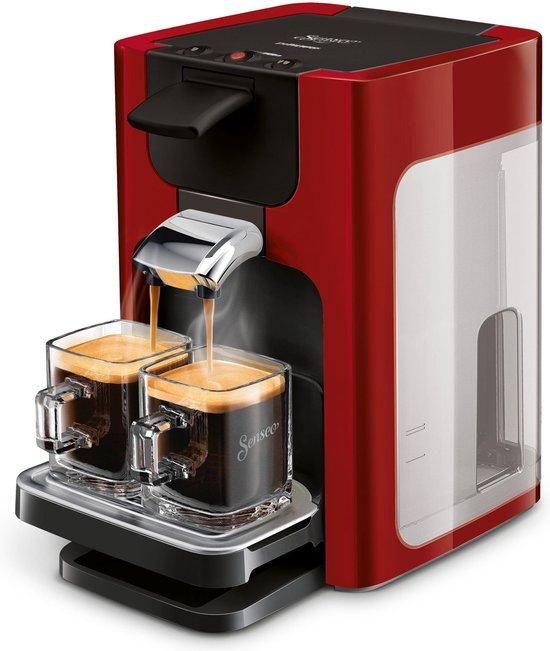 Philips Senseo Quadrante HD7865/80 Rood @Bol.com