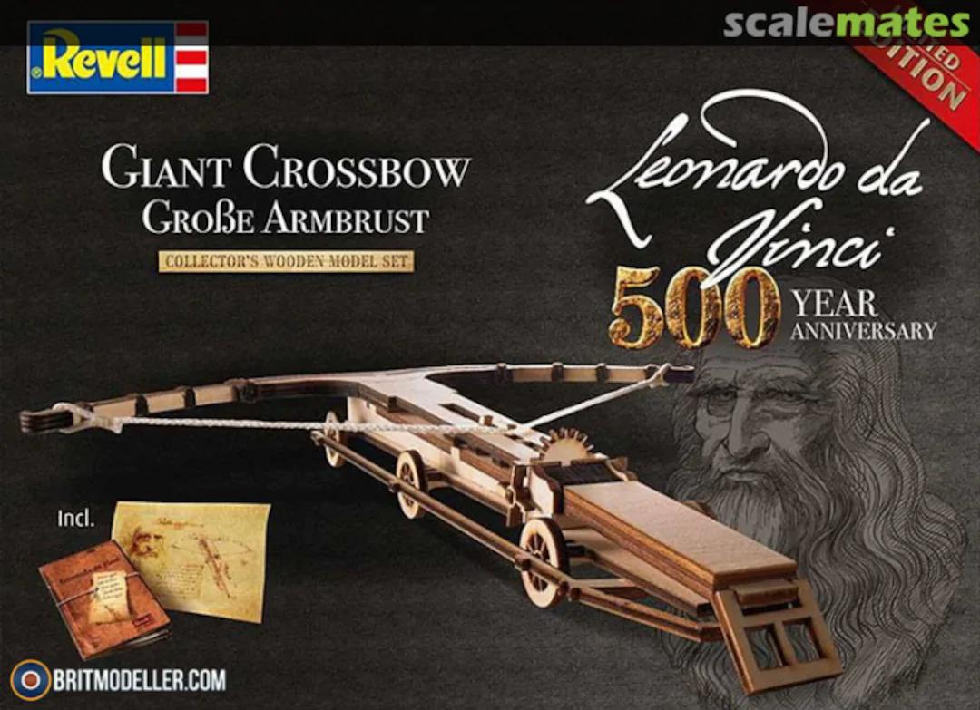 Revell - Leonardo da Vinci Kruisboog
