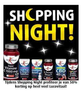 Lucovitaal Shopping Night