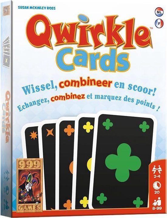 Qwirkle Cards of Dobbelspel de kolonisten van Catan voor €2,50