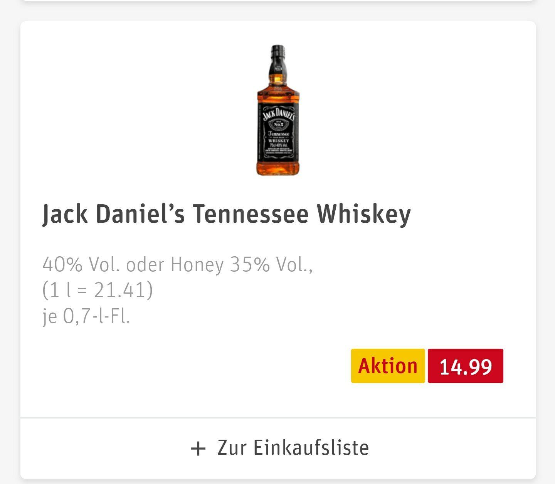 [GRENSDEAL DUITSLAND] Jack Daniels (honey) bij Rewe