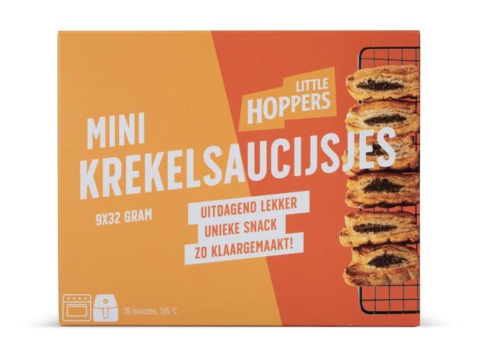 Vanaf nu bij Lidl te koop: Little Hoppers - 9 Mini-krekelsaucijzenbroodjes