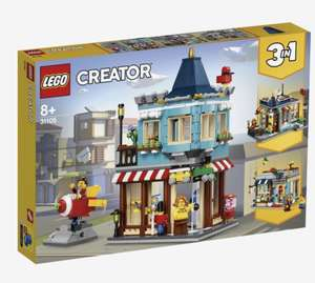 [LEGO] Woonhuis en speelgoedwinkel (31105)